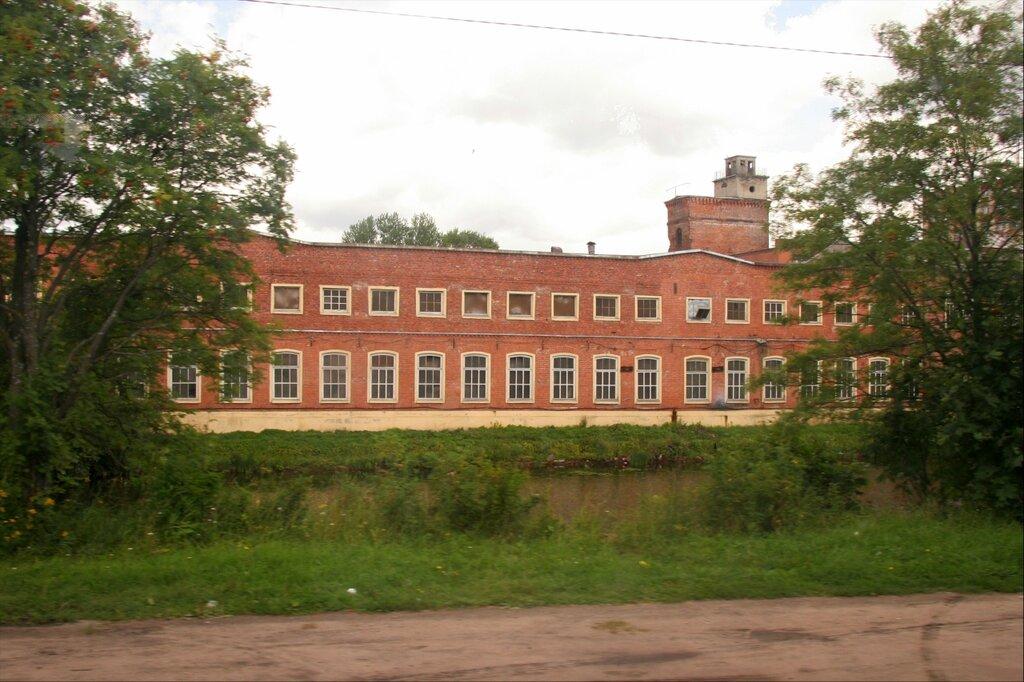 Шлиссельбург, Старое заводское здание