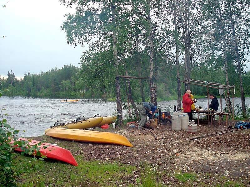 Маршруты по реке Воньга