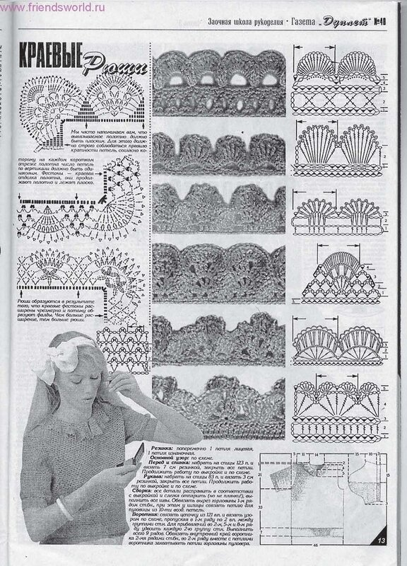 Схемы узоров косы спицами.
