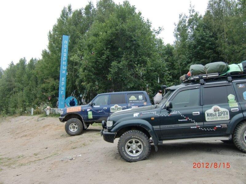 Трекеры Standard за полярным кругом www.std59.ru