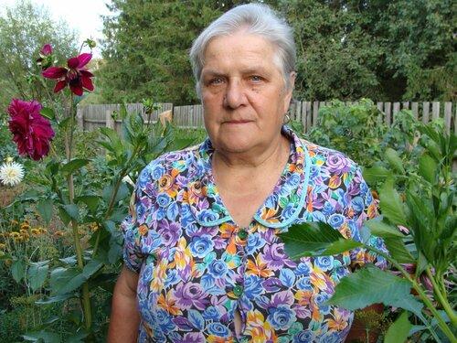 Л. Афанасенкова, пенсионерка