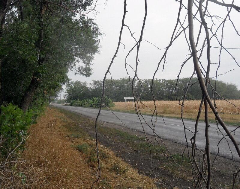 В дороге, Каневской район, 21 августа 2012, 11:38