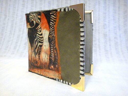 Портмоне с зеброй