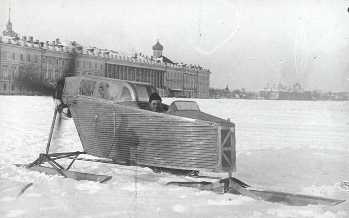 В январе 1924 г. сани АНТ-IV приняли участие в пробеге Москва - Нижний Новгород - Москва.  Старт был дан 7 марта 1924...