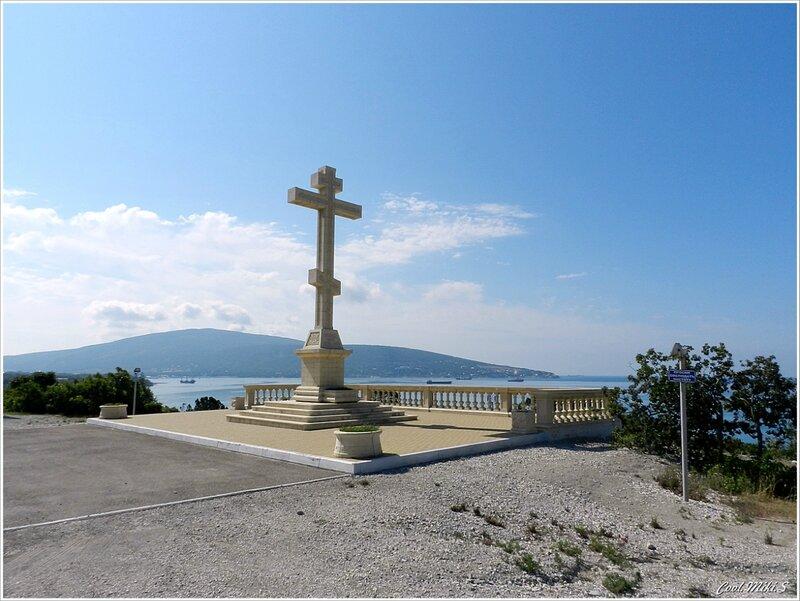Поклонный крест в селе Кабардинка.