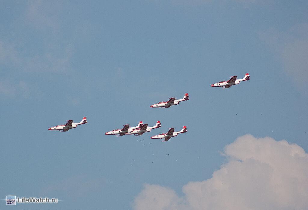Авиашоу 100 лет ВВС России