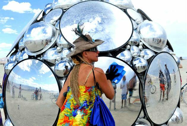 Фестиваль Горящий человек 2012