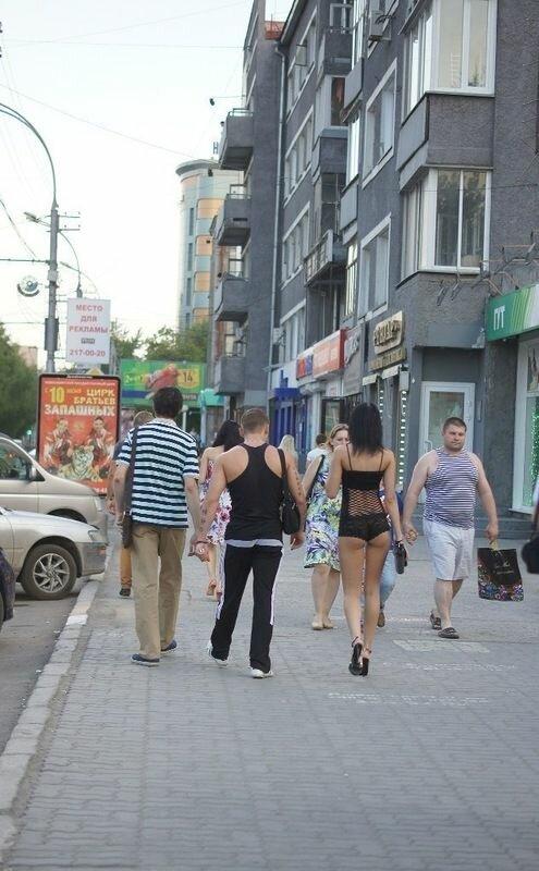 В чём ходят девушки Новосибирска
