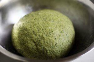 Зеленая лапша