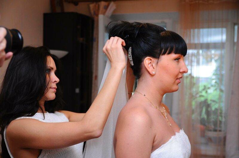 выезд парикмахера на дом свадебные прически