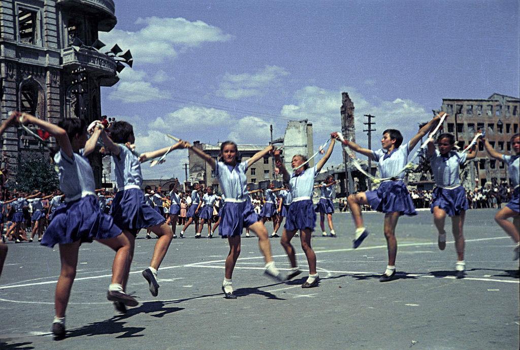 1945 год в цвете. Каким был мир 70 лет назад