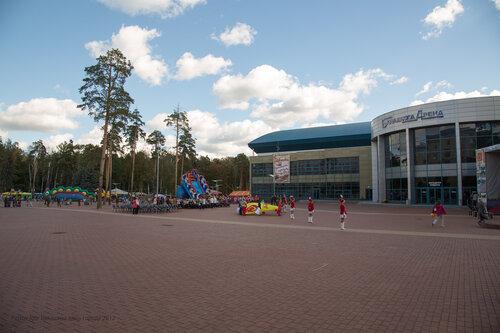 площадь Ледовый дворец арена Балашиха. Балашиха день города 2012 фотограф Петров Игорь