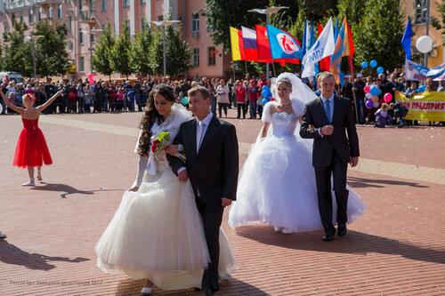 свадьба в Балашихе на дене города 2012 фотограф Петров Игорь