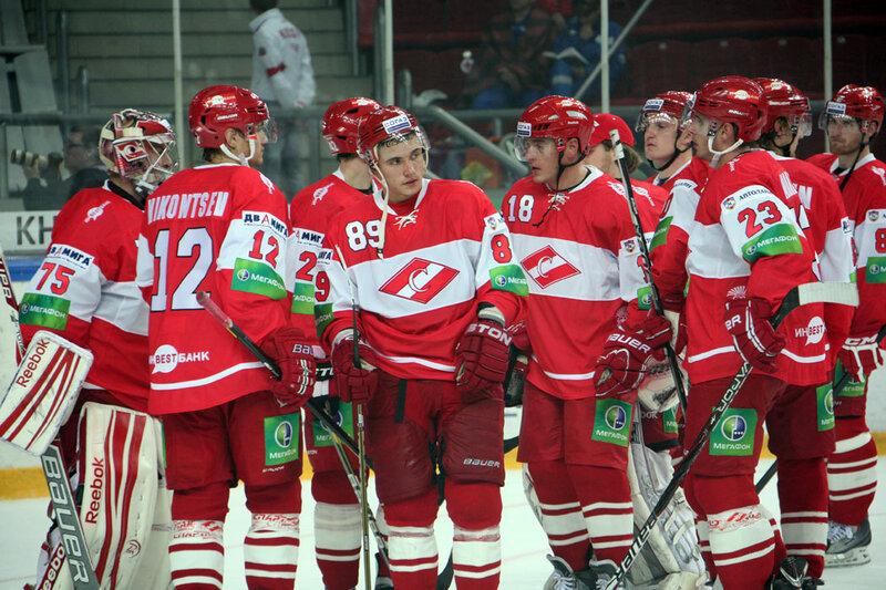 «Спартак» vs «Металлург» Нк 0:3 Б чемпионат КХЛ 2012-2013 (Фото)