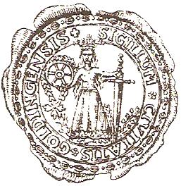 Герб Кулдиги 1681 г.