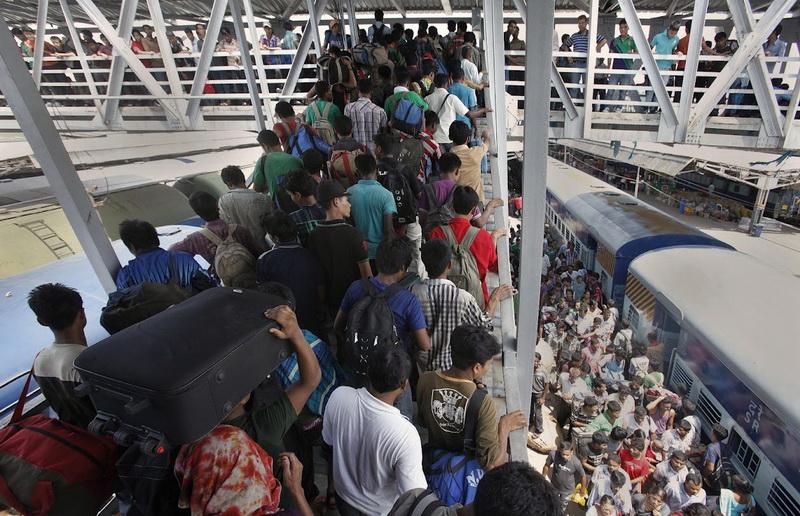 Железнодорожный транспорт в Индии