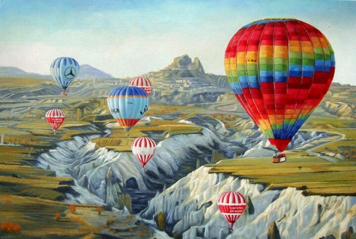 Цветные полотна. Shay Kun 11