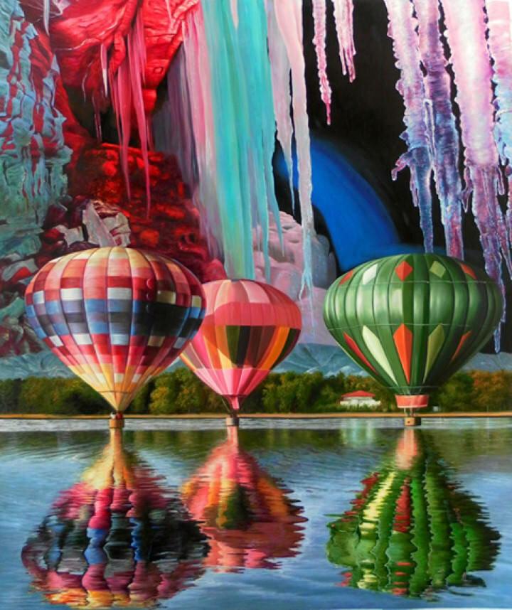 Цветные полотна. Shay Kun 15