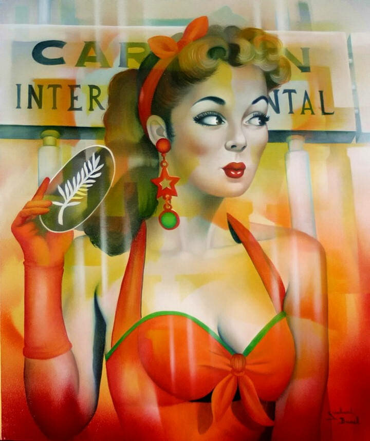 Jeannette Guichard-Bunel. Pin Up с сюрреализмом и юмором 23