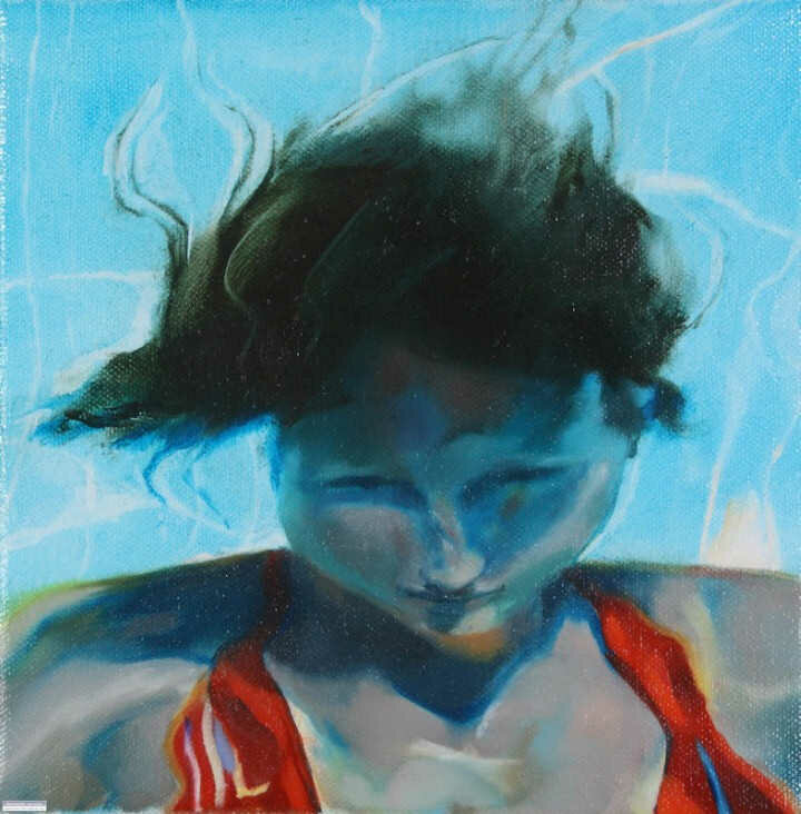 Sarah Harvey. Девушка под водой 33