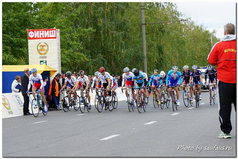 Велогонка в Тольятти