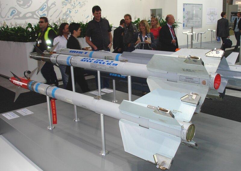 Управляемые ракеты немецкого консорциума Diehl Defence