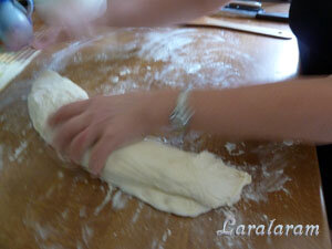 Хлеб Бернарда Клайтона. Формовка