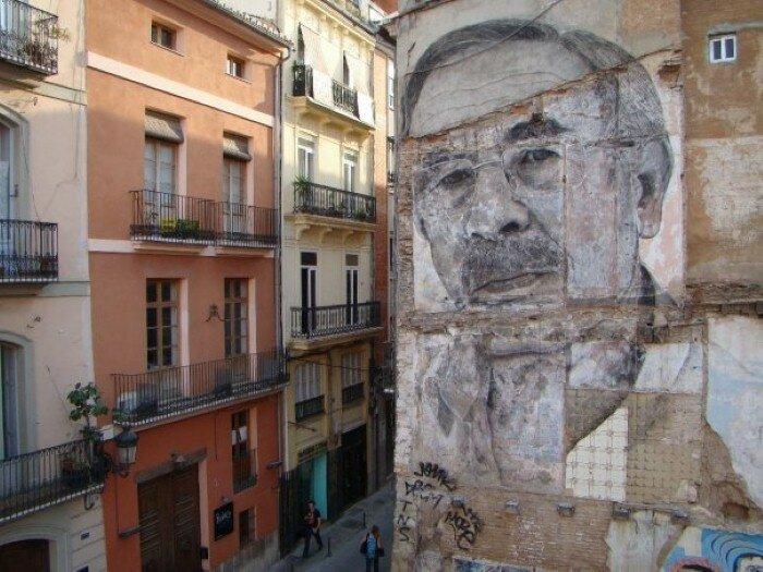 Уличное искусство. Jorge Rodriguez-Gerada 11