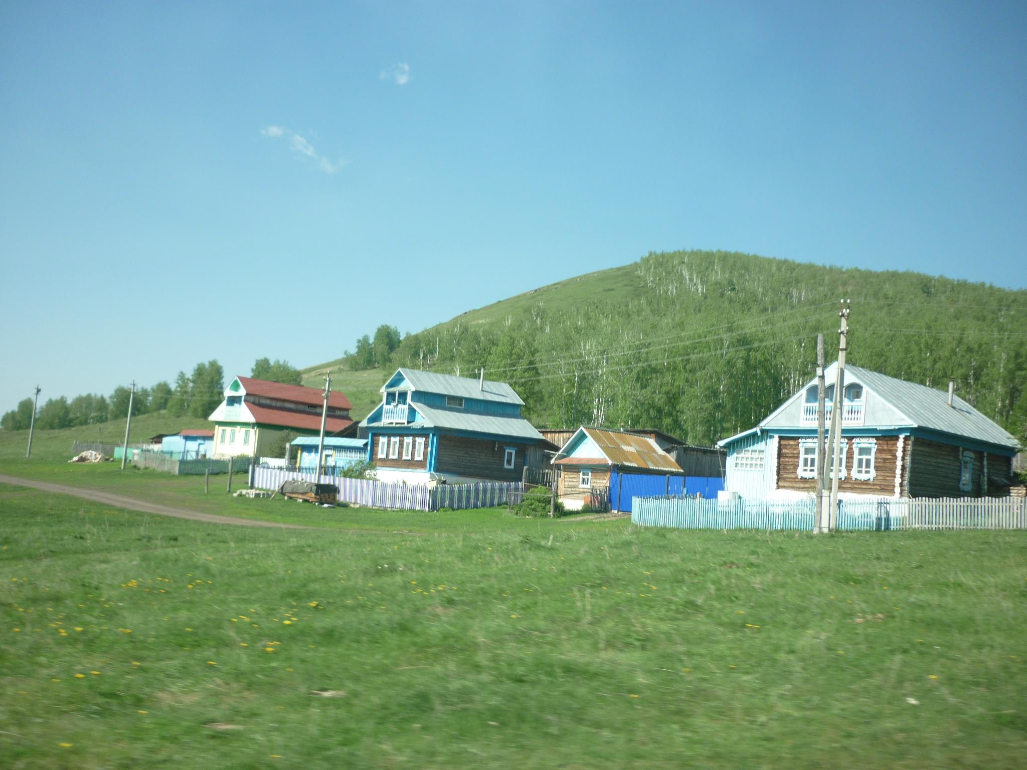 Деревня возле озера Аушкуль (03.07.2015)