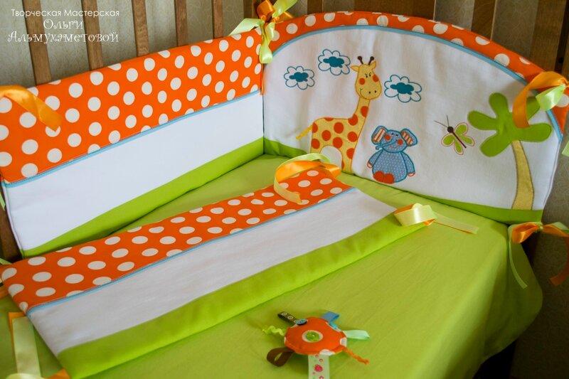 Борты для детской кровати своими руками