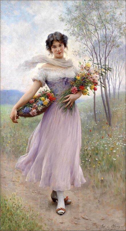 Я вас хочу с весной поздравить!
