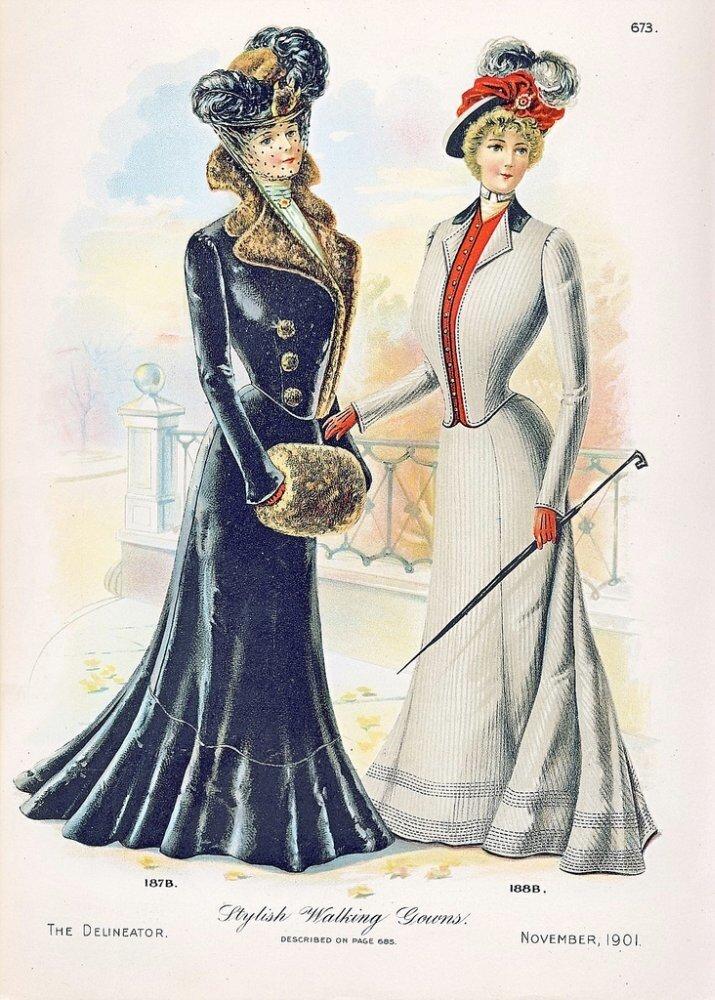 пограничному мода на старых открытках прекрасная фигура виде