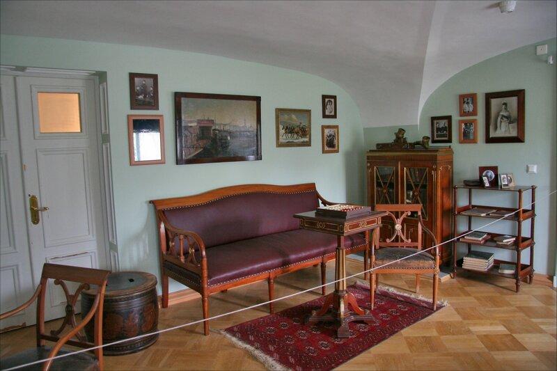 Гатчинский дворец, Личные покои Александра III и членов его семьи
