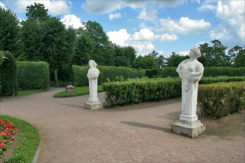 Гатчинский дворец, Собственный сад