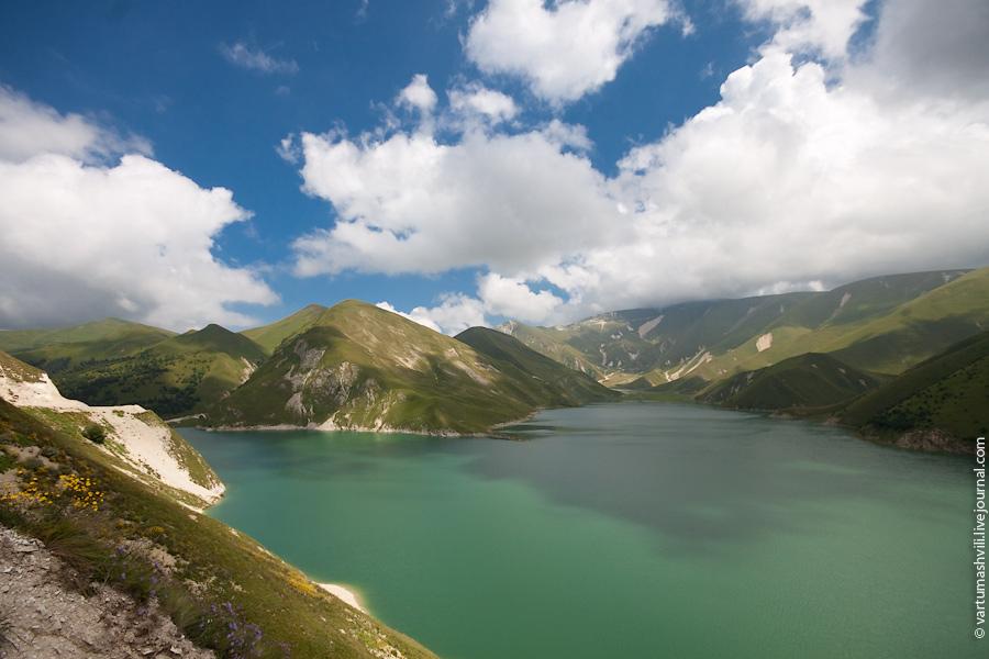 Чечня, озеро Кезеной-Ам