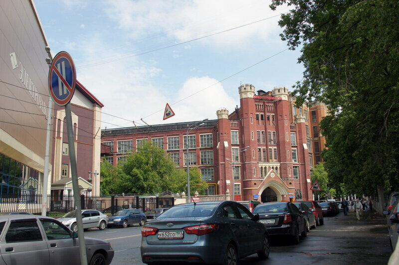 Особняк Носова на Введенской площади (арх.Кекушев)