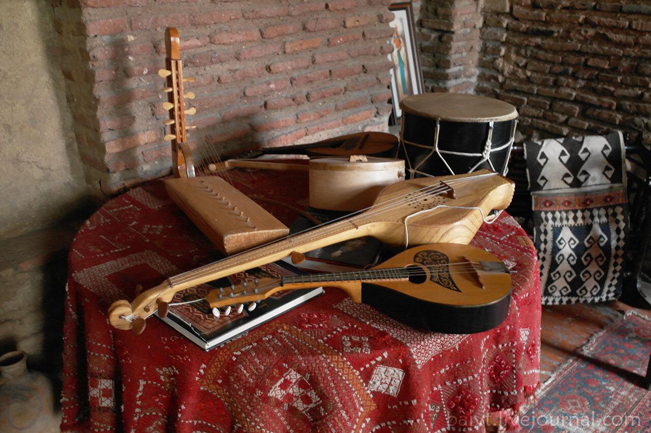 Сигнаги. В доме американского художника Джона Вурдемана.