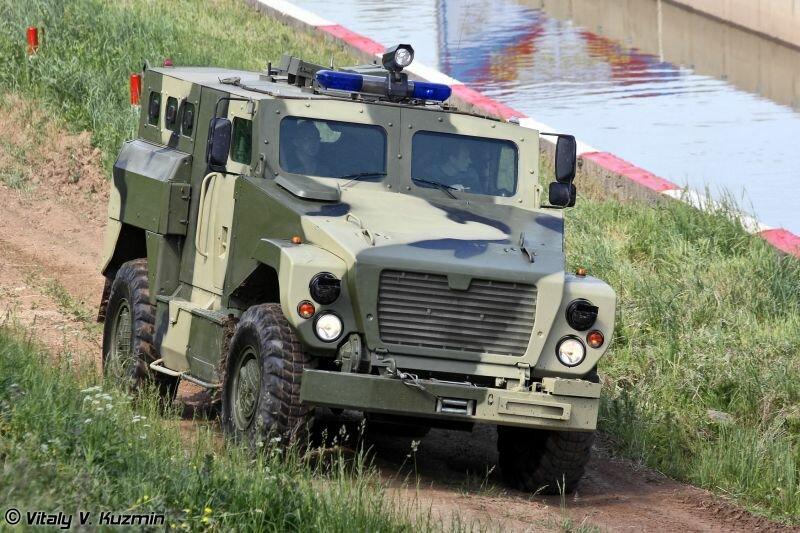 «Медведь» - специальная полицейская машина