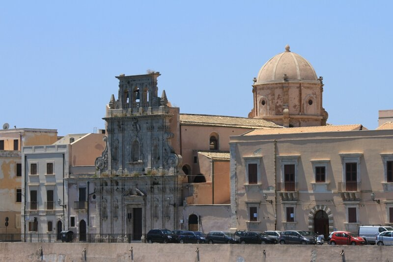 Сицилия, Сиракузы,Ортиджия