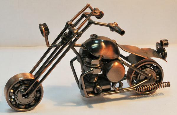 Как сделать мотоцикл из людей 618