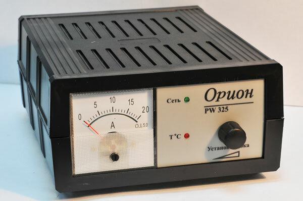 Зарядное устройство инструкция орион 325 pw