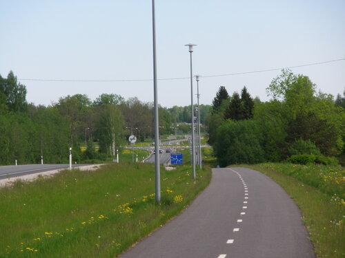 Велосипедные дорожки. Поездка в Пайде.