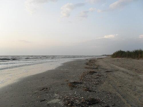 У моря вечером, август 2012