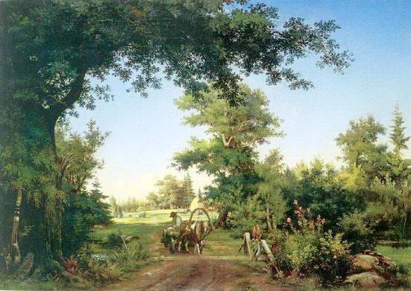 Вид в окрестностях Петербурга. 1856 г. И.И. Шишкин.jpg