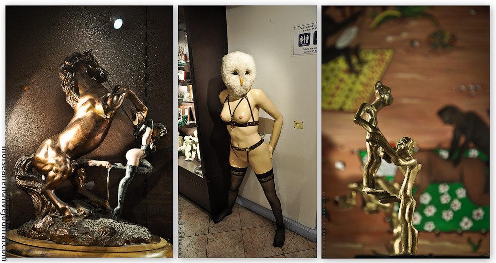 18+ Стыд, грех и вожделение в парижском Музее Эротики...