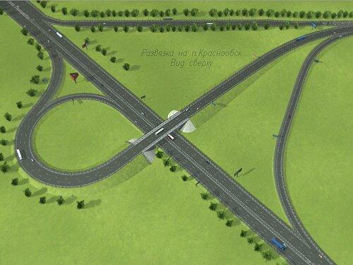 Развязка на Советском шоссе