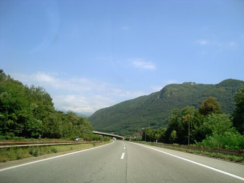 По дороге на Майренген