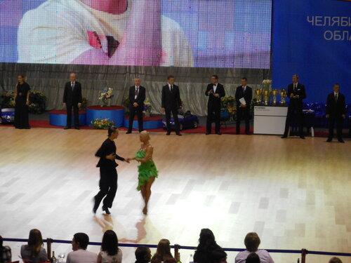 Кубок Губернатора 2012 по танцевальному спорту. Турнир мирового рейтинга. Первенство России.