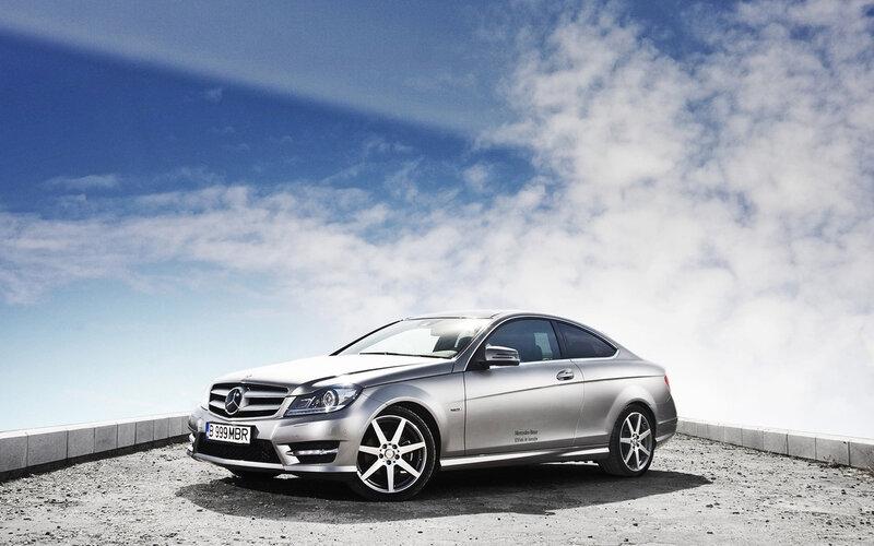 Скачать фото обои авто, Mercedes…