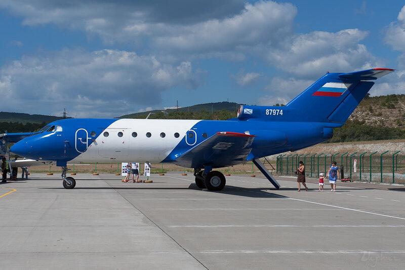 Яковлев Як-40К (RA-87974) Летные технологии DSC_4500
